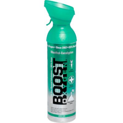 Boost zuurstof menthol 9 liter